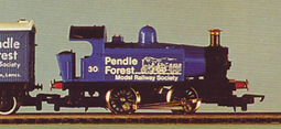 Pendle Forest Model Railway Society 0-4-0 Locomotive