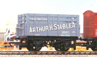 Arthur Stabler Of Darlington Coke Wagon