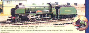 Schools Class Locomotive - Tonbridge (Royal Doulton)