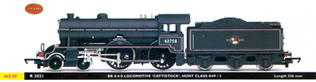 Hunt Class D49/2 Locomotive - Cattistock