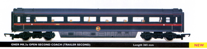 GNER Mk.3a Open Second Coach (Trailer Second)