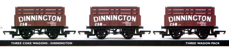 Dinnington Coke Wagon - Three Wagon Pack