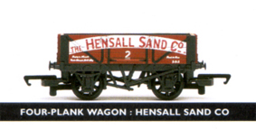 Hensall Sand Co. 3 Plank Wagon