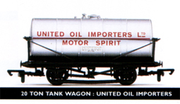 United Oil Importers 20 Ton Tank Wagon