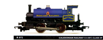 Highland Railway 0-4-0ST Locomotive - Ben-Y-Gloe
