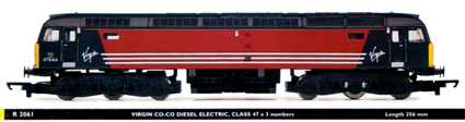 Class 47 Diesel Electric Locomotive