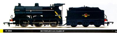 Hornby H128 Railroad 0-6-0 Fowler 4f Box Parts & Accessories
