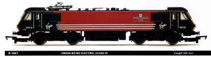 Class 90 Electric Locomotive - British Transport Police