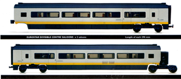 Eurostar Divisible Centre Saloons (2 Saloons)