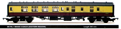 B.R. Mk.1 Brake Coach (Eastern Region)