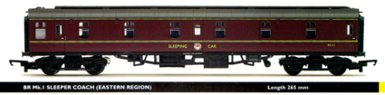 B.R. Mk.1 Sleeper Coach (Eastern Region)