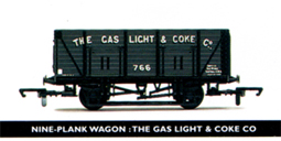 The Gas Light & Coke Co 9 Plank Wagon