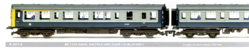 Class 110 3-Car Diesel Multiple Unit