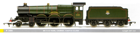 Castle Class Locomotive - Earl Cairns