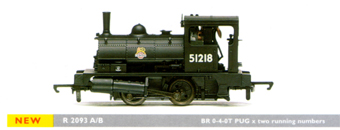 0-4-0T Pug Locomotive