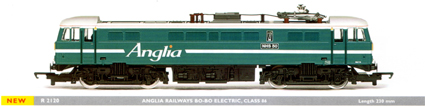 Class 86 Bo-Bo Electric Locomotive - NHS 50