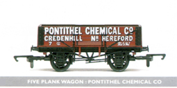 Pontithel Chemical Co 5 Plank Wagon
