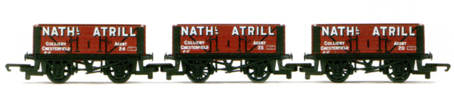 Nathanial Atrill 5 Plank Wagon - Three Wagon Pack