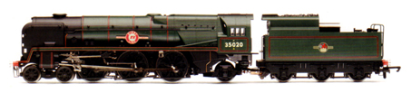 Merchant Navy Class Locomotive - Bibby Line