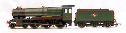 County Class Locomotive - County Of Monmouth