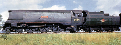 West Country Class Locomotive - Wilton