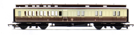 G.W.R. Clerestory Brake Coach