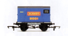 Hornby 2001 Conflat and Container