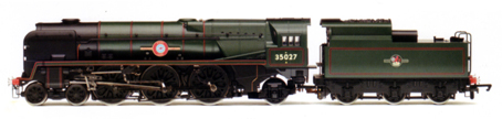 Merchant Navy Class Locomotive - Port Line