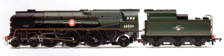 Merchant Navy Class Locomotive - Ellerman Lines - National Railway Museum Collection - Special Edition