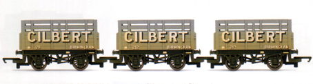 Cilbert Coke Wagons - Three Wagon Pack (Weathered)