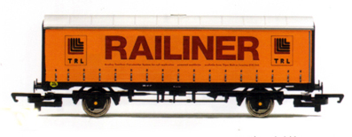 Railiner Curtain Sided Van