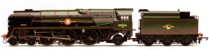 Merchant Navy Class Locomotive - Elders Fyffes
