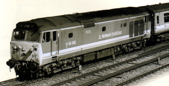 Class 50 Co-Co Diesel Electric Locomotive - Achilles