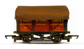 Chance & Hunt 7 Plank Wagon (Weathered)
