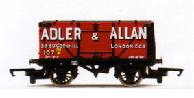 Adler & Allan End Tipping Open Wagon