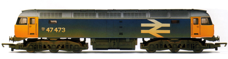 Class 47 Diesel Electric Locomotive (Weathered)