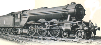Class A3 Locomotive - The White Knight