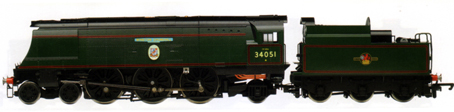 Battle Of Britain Class Locomotive - Winston Churchill - National Railway Museum Collection - Special Edition