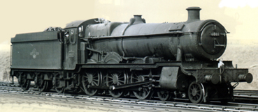 Grange Class Locomotive - Resolven Grange