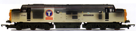 Class 37 Co-Co Diesel Electric Locomotive - Aluminium 100 (Weathered)