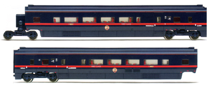 GNER White Rose Divisible Centre Saloon