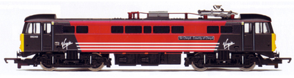 Class 86 Electric Locomotive - Sir Clwyd - County Of Clwyd