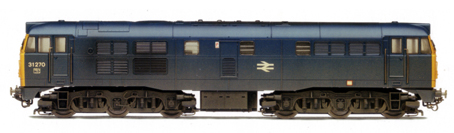 Class 31 Diesel Electric Locomotive (Weathered)