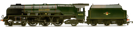 Princess Coronation Class Locomotive - Duchess Of Montrose (Weathered)