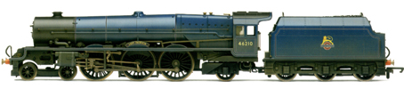 Princess Class Locomotive - Lady Patricia (Weathered)