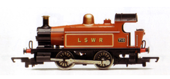 LSWR 0-4-0T Locomotive
