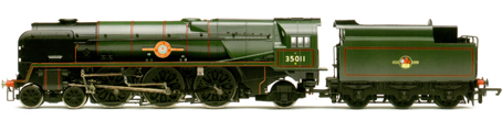Merchant Navy Class Locomotive - General Steam Navigation