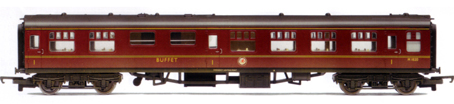 B.R. Mk1 Buffet Coach (Weathered)