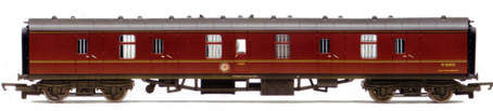 B.R. Mk1 Parcels Coach (Weathered)