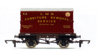L.M.S. Conflat With Container